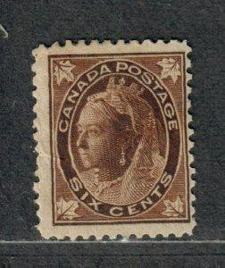 Canada Sc#71 M/H/F, Cv. $140