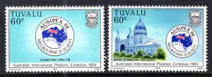 Tuvalu 257-258 MNH VF