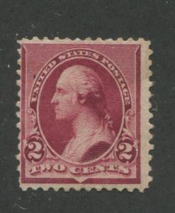 1890 US Stamp #219D 2c Mint F/VF Original Gum Catalogue Value $160