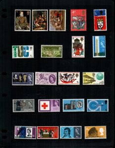 Great Britain  21  different MNH