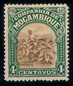 [65904] Mozambique 1921 Flora Tobacco Plants From Set MNH