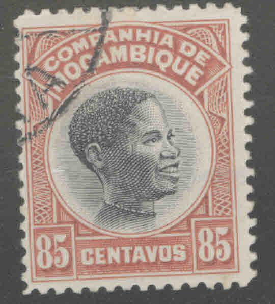 Mozambique Company Scott 157 Used from 1925-31 set