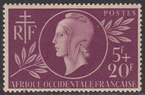 French West Africa B1 MH CV $6.50