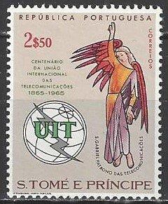 St. Thomas and Prince Islands     383    MNH   ITU Centenary