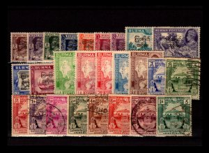 Burma 26 Mint and Used, some faults - C2902
