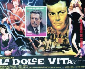 Senegal 1999 Film DOLCE VITA  s/s Perforated mnh.vf