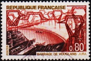 France. 1969 80c S.G.1816 Fine Used