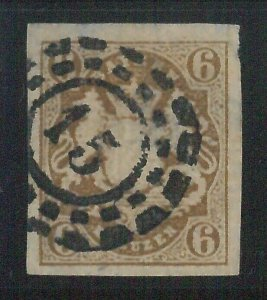 78001a  - GERMANY Bayern - STAMP: Michel  #  20  -   Very Fine  USED