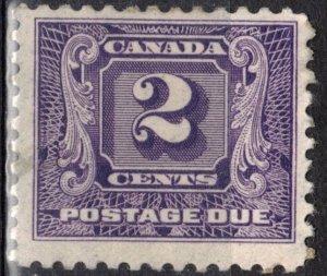 Canada Scott #J7 MH