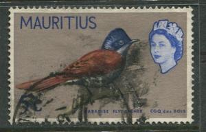 Mauritius-Scott 279 -QEII Pictorial Definitives -1965 -Used -Single 5c Stamp