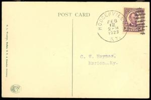 555, SCARCE FIRST DAY COVER (postcard) Cat $325.00