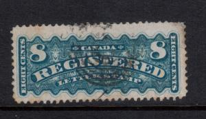 Canada #F3 Very Fine Used - Small Toning At Right And Tiny Thin