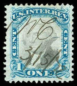 U.S. REV. SECOND ISSUE R103  Used (ID # 83426)