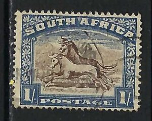 SOUTH AFRICA 43a VFU Q491-2
