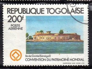 TOGOLAISE SC# C454 **USED** 200fr  1981    SEE SCAN