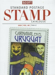 Scott 2020 Standard Postage Catalogue. Vol. 6B Thai - Z. Ex Library.  #02 SCC6B