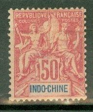 CW: Indochina 17 mint CV $45