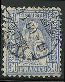 Switzerland 56 used 2013 SCV $10.00  small tear, lower right  - 15093