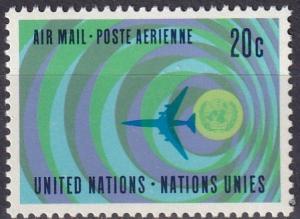 United Nations #C13 MNH