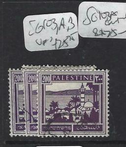 PALESTINE  (P0104B)   200 M   SG 103,A,B   VFU
