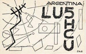 8773 Amateur Radio QSL Card  CORDOBA ARGENTINA