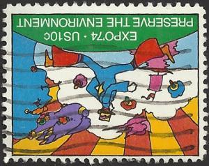 # 1527 USED EXPO 74' WORLD'S FAIR