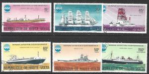Upper Volta #375-378, C223 CTO (Used) Full Set of 6