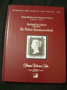 SHREVES SALE CATALOGUE 2001 GREAT BRITAIN 'BURANASOMBATI' GRAND PRIX COLLECTION