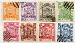 (I.B) British North Borneo Postal : Definitives Collection