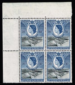 UK STAMP Kenya, Uganda and Tanganyika MNH/OG BLK OF 4