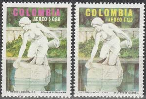Colombia #C578-9  MNH (S9595)