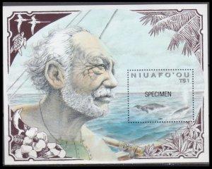 1990 Niuafo'ou 183/B10 Sea fauna ( SPECIMEN) 45,00 €