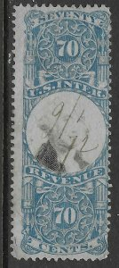 USA  R117 - Second Issue - Used - Fine -  CV$100.00