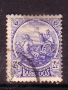 Barbados  #156 (U)  CV $10.00