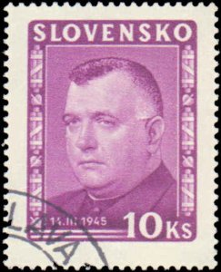 Slovakia #110-115, Complete Set(6), 1945, Used, CTO