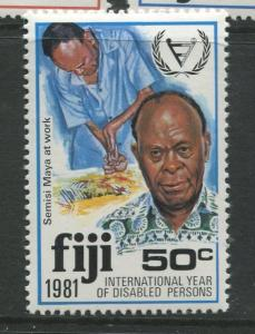 Fiji - Scott 440 - General Issue 1981 - MNH -  Single 50c Stamp