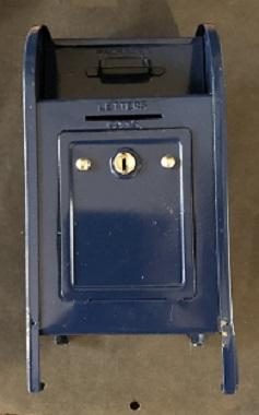 U.S. Mail Box Bank by Western Stamping Corp. with key