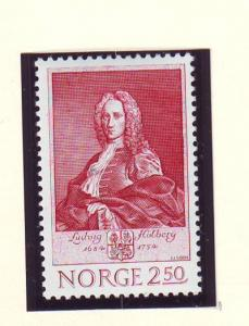 Norway Sc 847 1984 Holberg stamp mint NH