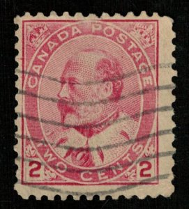 King Edward VII, 2 cents, Canada, 1903 (T-6146)