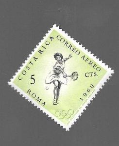 Costa Rica 1960 - Unused - Scott #C307