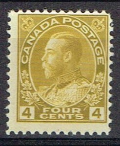 Canada F MNH Dry Printing Scott 110d