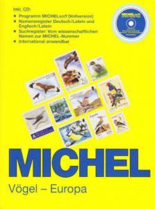Michel Vögel-Europe 2007, with CD, NEW, Birds