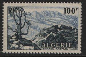 ALGERIA, 266, HINGED, 1955, Great Kabylia mountains