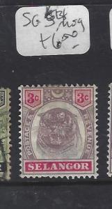 MALAYA SELANGOR  (P0509B)  TIGER   3C  SG  54  MOG