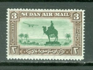 SUDAN AIR CAMELS #C4...MINT...$3.50