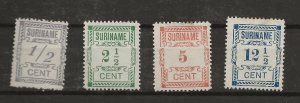 Suriname 1912 help issue  MNG