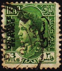 Iraq. 1934 3f  S.G.O192 Fine Used