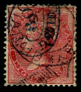1865-67 India #25 QV Watermark 38 - Used - VF - CV$95.00 (ESP#3823)