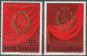 Romania #2525-6 MNH F-VF (SU7020)