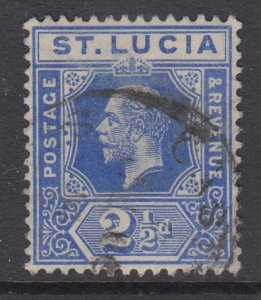St Lucia 67 Used VF